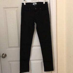 Paige black Skyline Skinny jeans, size 26